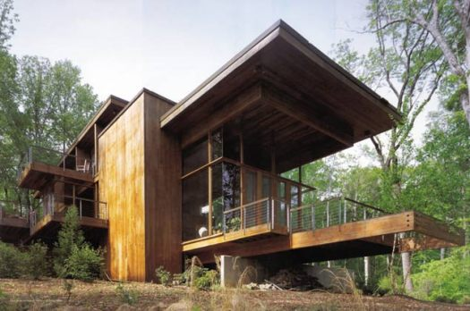 Frankel House - North Carolina (Image - Kappe+Du)