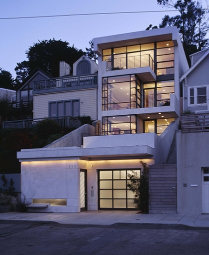 The Abelson/Guthrie House by Ross Levy Architects