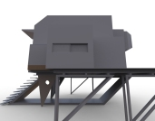 Floating Block House (greyscale model).2854