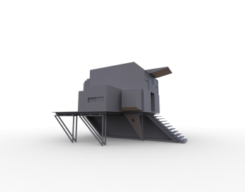 Floating Block House (greyscale model).2860