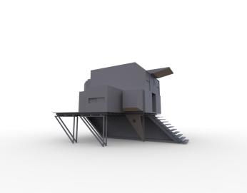 Floating Block House (greyscale model).2860