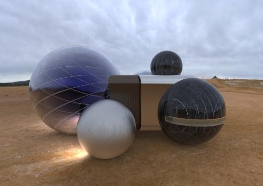 Chrystal Sphere House.270