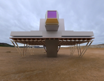 Floating Block House.2862