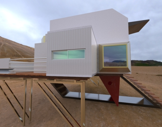 Floating Block House.2863
