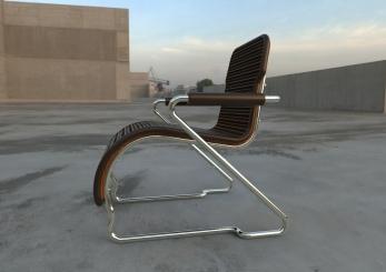 Butter Cream Chair.147