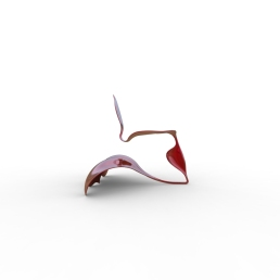 Serpent and Swan Chair (double wave base).463