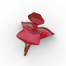 Serpent and Swan Chair (double wave base).473