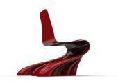 Swirling Silk Chair.373