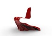 Swirling Silk Chair.381