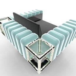 Bolero Square Chair.855