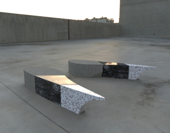 Dragon Wing 3 - black with marble and cement (plaza seating).472