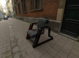 Here Chair (black, black, red).19
