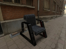 Here Chair (black, black, red).20