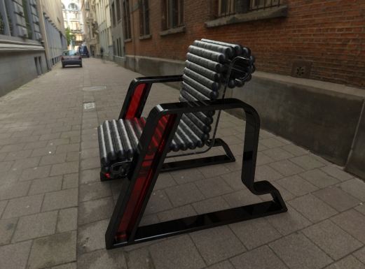 Here Chair (black, black, red).26