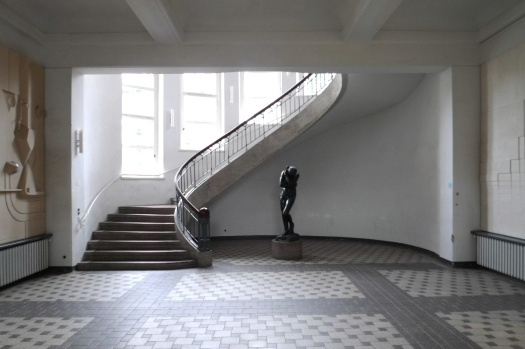 Foyer of the Bauhaus-University Weimar, with Jugendstil staircase